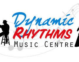 #103 untuk Logo Design for Dynamic Rhythms Music Centre oleh JulieSneeden