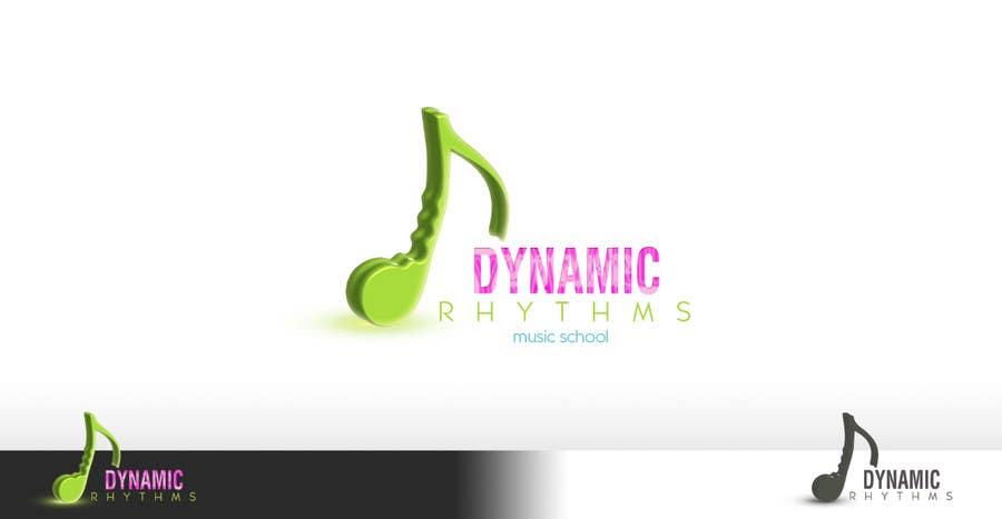 Kilpailutyö #136 kilpailussa Logo Design for Dynamic Rhythms Music Centre