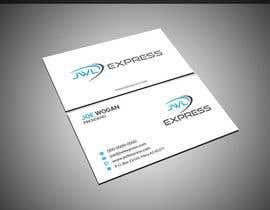 Nro 11 kilpailuun Business Card Design For JWL Express käyttäjältä mahmudkhan44