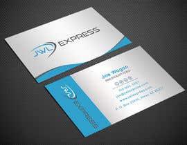 Nro 96 kilpailuun Business Card Design For JWL Express käyttäjältä Warna86