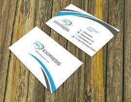 Nro 54 kilpailuun Business Card Design For JWL Express käyttäjältä sujan18