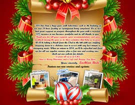 #4 para Design a Christmas (Santa etc) Flyer to promote our services por sergeytrach