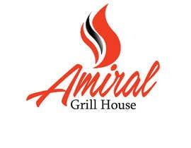 Nro 6 kilpailuun Design a Logo for Amiral Grill House käyttäjältä hectorvalerog69
