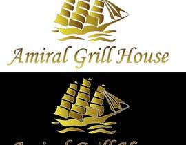 Nro 19 kilpailuun Design a Logo for Amiral Grill House käyttäjältä bijjy