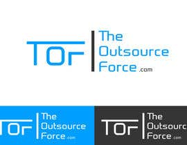 gurusinghekancha tarafından Design TheOutsourceForce.com Logo için no 25