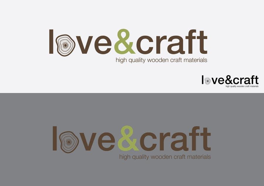 Penyertaan Peraduan #33 untuk Design a Logo for Love of Crafts