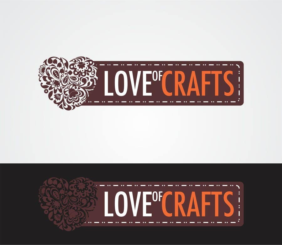Penyertaan Peraduan #41 untuk Design a Logo for Love of Crafts