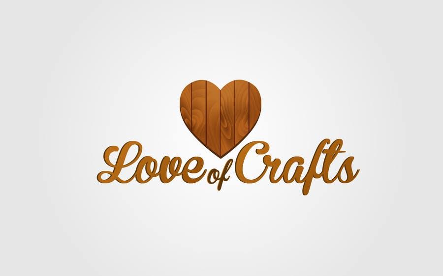 Penyertaan Peraduan #28 untuk Design a Logo for Love of Crafts