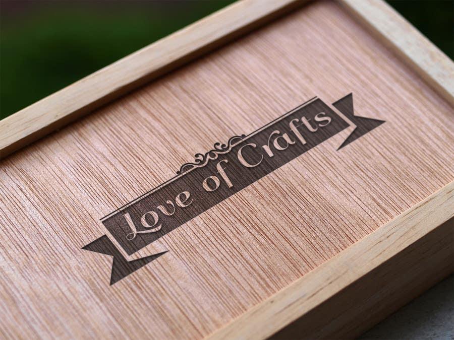 Penyertaan Peraduan #15 untuk Design a Logo for Love of Crafts