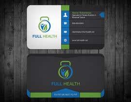 Nro 110 kilpailuun Design come Cool Business Cards for Full Health käyttäjältä Cortana10