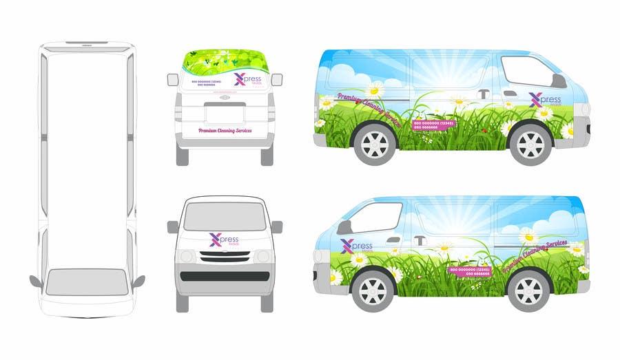 Kilpailutyö #36 kilpailussa I need Design for a Vehicle Wrap!