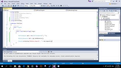 Image of                             C# Web Api Application