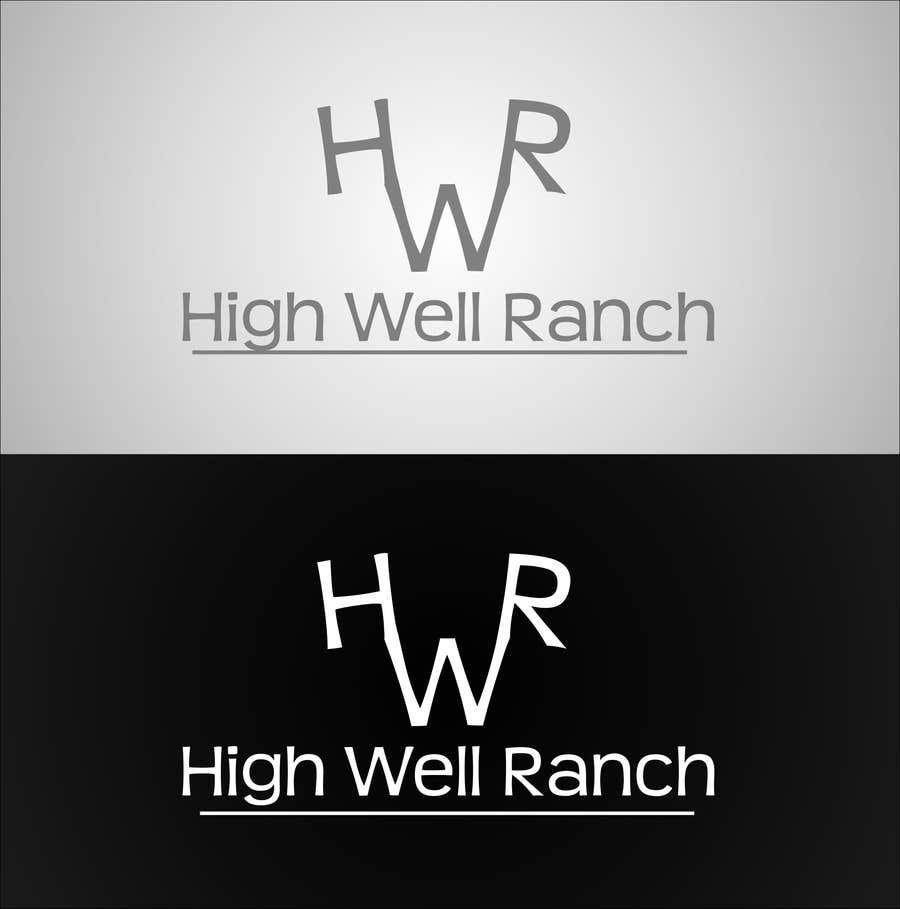 Penyertaan Peraduan #                                        12                                      untuk                                         Design a Logo for High Well Ranch