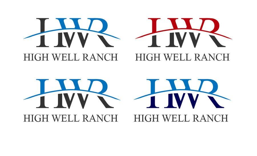 Penyertaan Peraduan #                                        55                                      untuk                                         Design a Logo for High Well Ranch