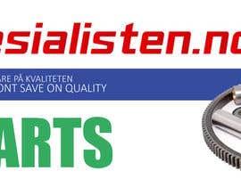 Nro 13 kilpailuun Design banner for car parts 980x300 käyttäjältä anjusnav