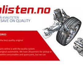 Nro 17 kilpailuun Design banner for car parts 980x300 käyttäjältä anjusnav