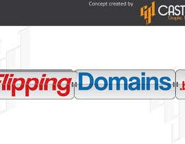 #64 for Design a Logo for FlippingDomains.biz af CasteloGD