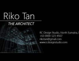 #70 untuk need a profesional architect business card and logo oleh ivycua02