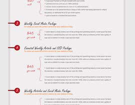 #14 for Turn my Price List into an Awesome Infographic by aleksejspasibo