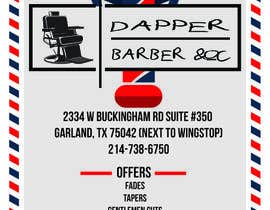 joefreyyu tarafından Please design a flyer for my barbershop için no 2