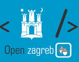 #25 for Design a Logo for Open Zagreb af dyuvaraj