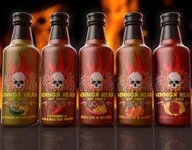Kreator9 tarafından Hot Sauce Label (Lennox Head Hot Sauce) için no 48