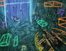 Nro 12 kilpailuun Design / Draw Artwork for Space Shooter game käyttäjältä marinasanc