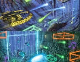 Nro 16 kilpailuun Design / Draw Artwork for Space Shooter game käyttäjältä marinasanc