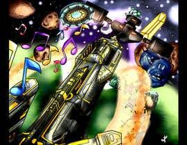 Nro 25 kilpailuun Design / Draw Artwork for Space Shooter game käyttäjältä myjobsljc