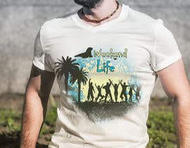 Lorencooo tarafından Weekend Life Co Beach Party Tshirt design için no 14