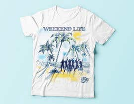 lauraburdea tarafından Weekend Life Co Beach Party Tshirt design için no 24