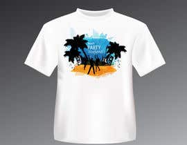 tk6986 tarafından Weekend Life Co Beach Party Tshirt design için no 9