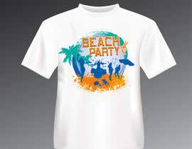 tk6986 tarafından Weekend Life Co Beach Party Tshirt design için no 16