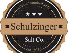 "#22 untuk Design a Logo for the ""Schulzinger Salt Co."" oleh topikeche"
