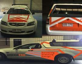 Nro 23 kilpailuun Design a Car Vinyl Wrap to advertise Business käyttäjältä mirceasilvyu