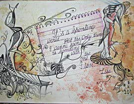 #20 para Illustrate Something for a post card quote por sharmaankit09