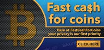 Banner Design Contest Entry #6 for Design an Advertisement for Fast Cash For Coins