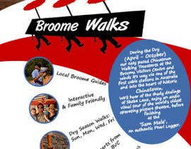 #8 for Design a Flyer for Broome Walks af authenticweb