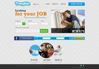 Proposition n° 176 du concours Graphic Design pour Website Design for Tonybin (simple and cool designs wanted)