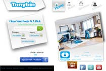 Proposition n° 82 du concours Graphic Design pour Website Design for Tonybin (simple and cool designs wanted)