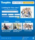 Proposition n° 160 du concours Graphic Design pour Website Design for Tonybin (simple and cool designs wanted)
