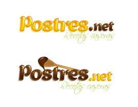 Nro 13 kilpailuun Diseñar un logotipo: postres.net käyttäjältä escarpia