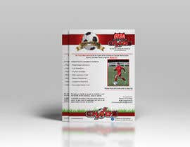 AhamedAntur tarafından Design a Flyer for youth soccer packet için no 9