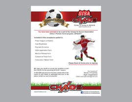 msranask tarafından Design a Flyer for youth soccer packet için no 7