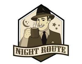 rehmanmazher tarafından coffee shop logo (Night Route) için no 56