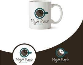 Babazinga tarafından coffee shop logo (Night Route) için no 66