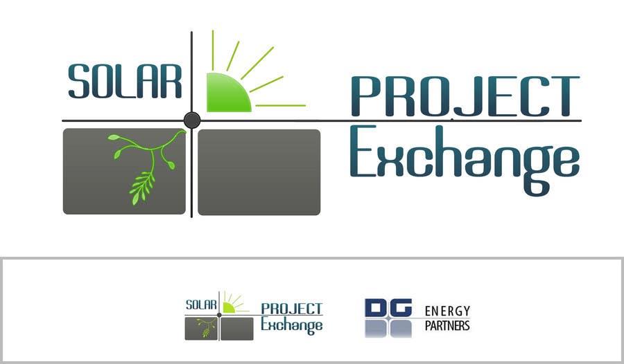Penyertaan Peraduan #66 untuk Logo Design for Solar Project Exchange