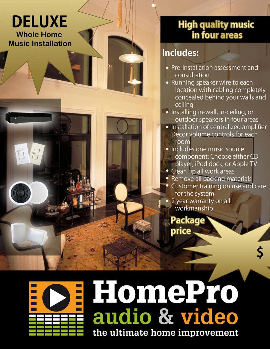 Конкурсная заявка №10 для Graphic Design for AV installation company