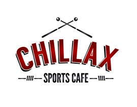 "#74 cho logo for a gaming pool sports cafe "" CHILLAX "" bởi MagdalenaJan"