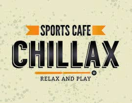 """#84 for logo for a gaming pool sports cafe """" CHILLAX """" by MagdalenaJan"""